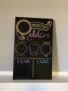 Baby age board