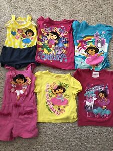Girls Dora the Explorer T-shirts/jump suits