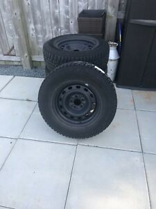 """Like new. 16"""" Winter Tires and Rims."""