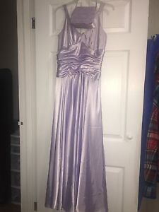 Lavender prom dress