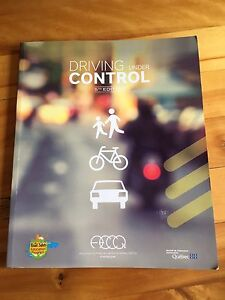 Driving instruction book