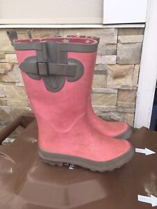 Girls rubber boots size 13