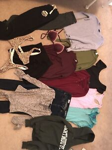 Lot of teen clothes