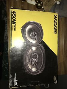 Kicker 6x9 speakers brand new in box retail for $140