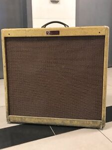 FS/FT Early 90s USA Fender Blues Deville 410 Tweed w Footswitch
