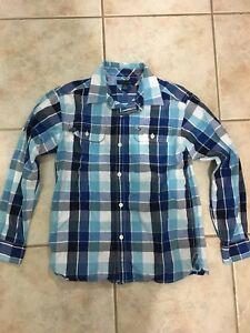 Like new boys Tommy Hilfiger button up size 12-14
