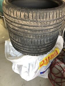 "19"" new summer tires 255/35ZR19 and 275/30ZR19"