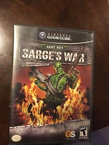 Sarges war for gamecube