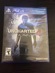 Brand new  uncharted 4 ps4