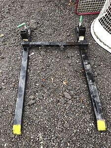 Pallet Forks Clamp on with Stabilizer