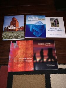 First Year textbooks McMaster University
