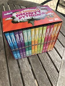 The Complete Monty Python's Flying Circus DVD collection.