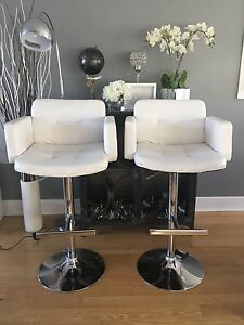 2 x Bar Stool Chairs - $60.00 for both