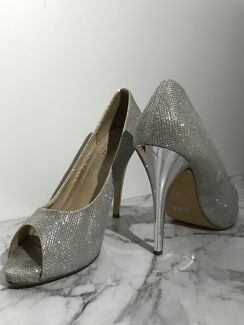 Silver formal/ wedding shoes