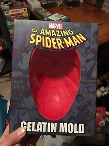 Spiderman mould