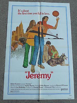 1973 1-Sheet Movie Poster JEREMY Robby Benson style B