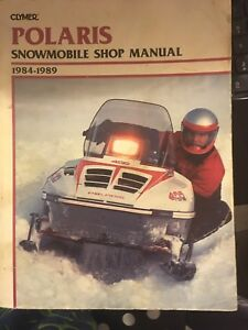 Shop manual Polaris 84-89