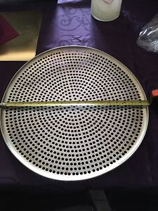 "Large 19"" pizza tray"