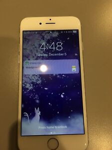 iPhone 6 S silver 64g locked $400 obo