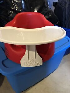 Kids Bumbo chair with table