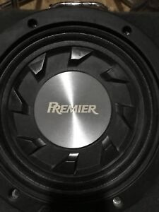 Pioneer audio system subs, amp , and speakers