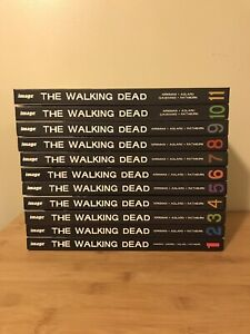 The Walking Dead hardcover book collection #1 - 11