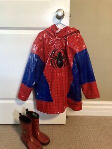 Spider-Man Rain Jacket & Rain Boots