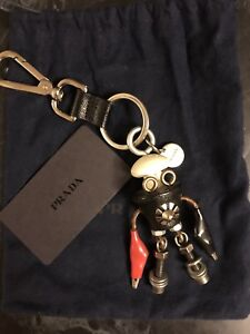 Prada Keychain & Bag Charm Key Ring Robot