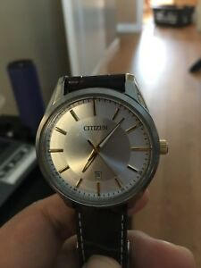 Citizen Watch (Leather Band) great condition