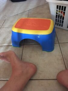 Child's stepping stool , 1 year old bath toy