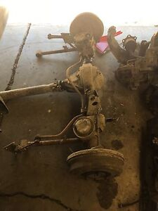 Toyota 4Runner rear end complete
