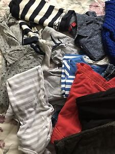 Size 1 boy winter clothes pack Redland Bay Redland Area Preview