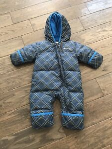 Columbia 3-6 month snowsuit