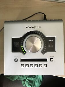 UAD Apollo DUO Universal Audio thunderbolt interface