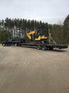 Flat Bed Services/ Heavy Equipment Transportation/Haulage