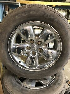 "20"" Dodge Ram 1500 rims and tires"
