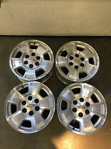 "CHEVROLET 17"" aluminum wheels / rims"