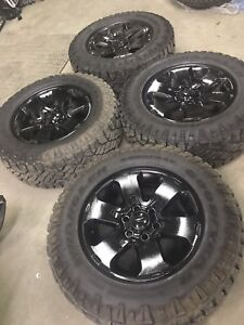 Almost new Duratrac 275/65-18 on F150 FX4 wheels