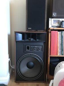 Speakers/ Amp/ Vintage Tube Radio For Sale.