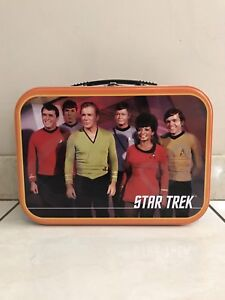 STAR TREK: THE ORIGINAL SERIES COLLECTIBLE TIN TOTE LUNCHBOX