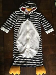 Gymboree penguin costume 0-6M