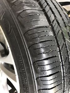 205/55/16 Michelin defender on fast wheels. $500 wheels+tires