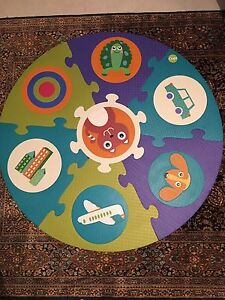 Children's sponge play mat - easy to clean, excellent condition South Perth South Perth Area Preview