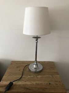 Table lamps x 2 suitable for bedroom