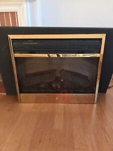 "Electric  fireplace 30"" insert"