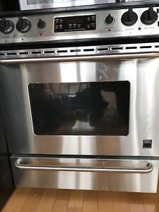 Frigidaire Pro Series stove & microwave and Maytag dishwasher
