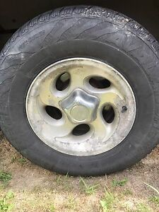 4 Winter tires with rims IN OLIVER B.C