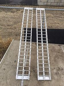 Load ramps.