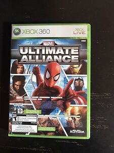 SELLING ULTIMATE ALLIANCE/FORZA COMBO FOR XBOX 360!