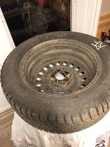 """Winter tires (18"""") on rims (4 tires)"""